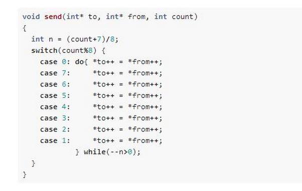 初次看到这段代码的时候惊为天人!