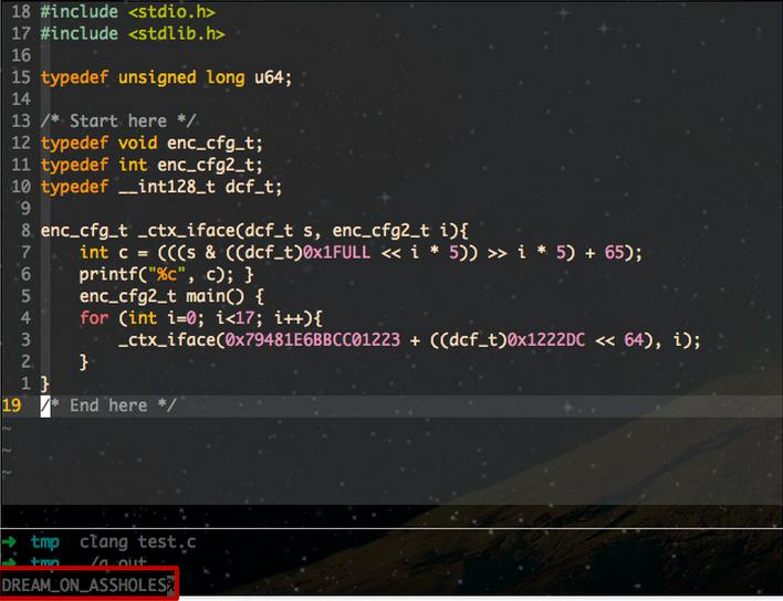 美剧《硅谷》中,这段神秘代码,看起来很黑科技!
